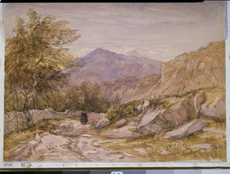 1912P35 A Welsh Mountain Road