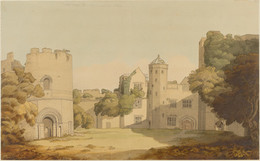1921P90 View Of Ludlow Castle
