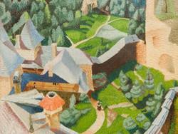 1944P202 Burg, Finstergrun