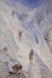1935P498 Alpine Climbers