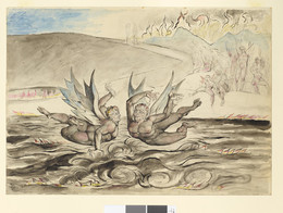 1919P3 The Baffled Devils Fighting