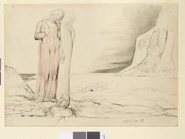 1919P4 Dante Striking Against Bocca Degli Abbati