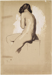 1946P29 Female Nude - Study from behind