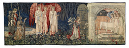 1907M131 Quest for the Holy Grail Tapestries - Panel 6 - The Attainment
