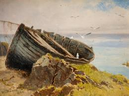 1892P41.10 Boat