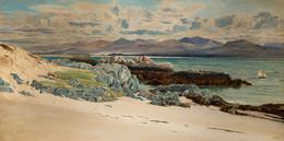 1921P9 Snowdon And Caernarvon From Llanddwyn Island