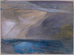 1958P16 Vevey, Lake Geneva/Sketch of a Window