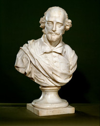 1987P2 Bust of William Shakespeare (1564-1616)