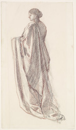 1904P116 Female - Drapery Study