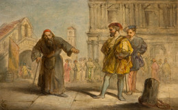 1984P15 Scene From Shakespeare's The Merchant Of Venice