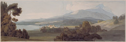 1921P60 Ambleside (or Lake Windemere from Ambleside)
