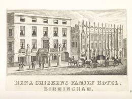 1996V145.41 Hen & Chickens Hotel, New Street, Birmingham