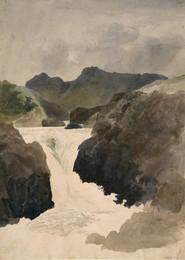 1927P799 Skelwith Force, Westmorland