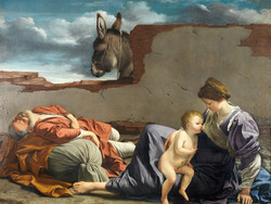 1947P5 Rest on the Flight into Egypt