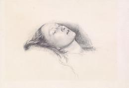 1906P664 Ophelia - Head Study
