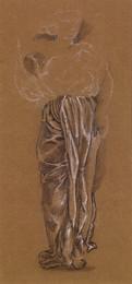 1904P11 Female - Drapery Study for Lower Half of Figure