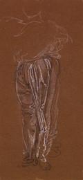 1904P11.2 Female - Drapery Study for Lower Half of Figure