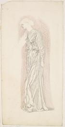 1904P25 The Garland Weavers - Drapery Study