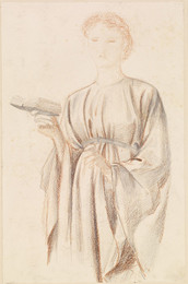 1904P57 The Rose Garden - Study of Georgiana Burne-Jones