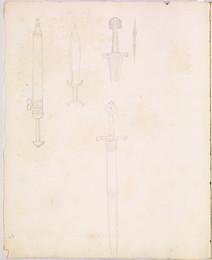 1952P6.49 Studies of swords