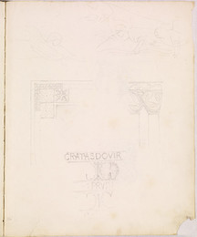 1952P6.52 Sketch of architectural details