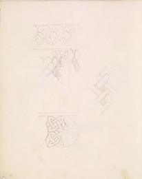 1952P6.53 Studies of frieze/pattern decoration