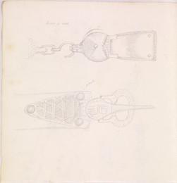 1952P6.59 Studies of Medieval belt buckles