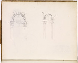 1952P6.6 Two studies of archways
