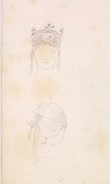 1952P6.63 Studies of crown and headdress
