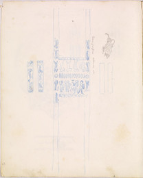 1952P6.67 Studies of ornament with fantastic beasts
