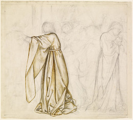 1927P913 Study for Composition - possibly for Tristram and Iseult