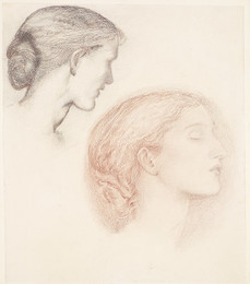 1904P188 The Lament - Study of Two Female Heads