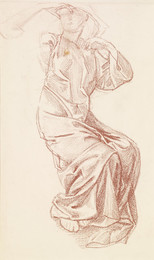 1904P223 The Hours - Study of Drapery