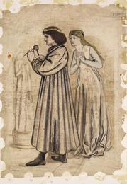 1904P528 King René's Honeymoon - Sculpture