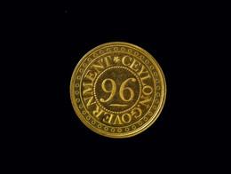 1885N1541.16 1/96th Ceylon Rixdollar Pridmore 86A
