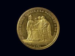 1885N1541.7 1791 France Monneron: Serment du Rois 'Je Jure' Medal (Margolis 18)