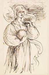 1904P337 Madonna Pietra - Figure Study