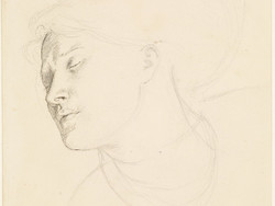 1904P433 Found - Study for the Head of the Woman
