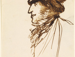 1904P435 Portrait Sketch of Ford Madox Brown
