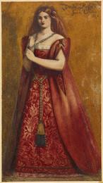 1904P452 Rosso Vestita [Dressed in Red]
