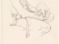 1972P73 King Cophetua and the Beggar Maid - Studies for Cophetua