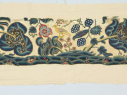 1948M21.6 Set of Bed Hangings - curtain section