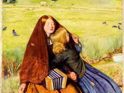 1892P3 The Blind Girl