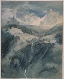 1905P2 Cascade de la Folie, Chamonix