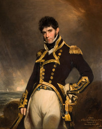 1938P680 Portrait of Captain Gilbert Heathcote RN, 1779-1831
