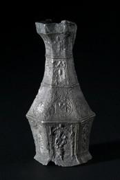 2000A2.13 Tin Communion Cruet
