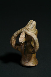 2000A2.14 Terracotta Zoomorphic Roof Finial